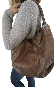 Tanner Krolle Python Shoulder Bag