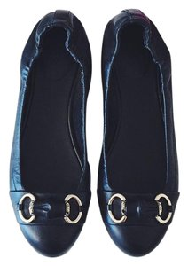 Gucci Ballerina Ballet Leather Horse-bit Horsebit Silver Hardware Made In Italy Designer Box Gg Bamboo Casual Gold Gold Black Flats