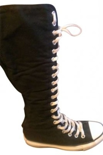 Preload https://img-static.tradesy.com/item/151147/converse-black-and-white-name-all-star-x-hi-description-knee-high-bootsbooties-size-us-7-0-0-540-540.jpg