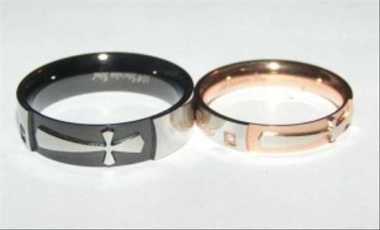 Silver/Black/Rose Gold Bogo Free 2pc Band Free Shipping Jewelry Set
