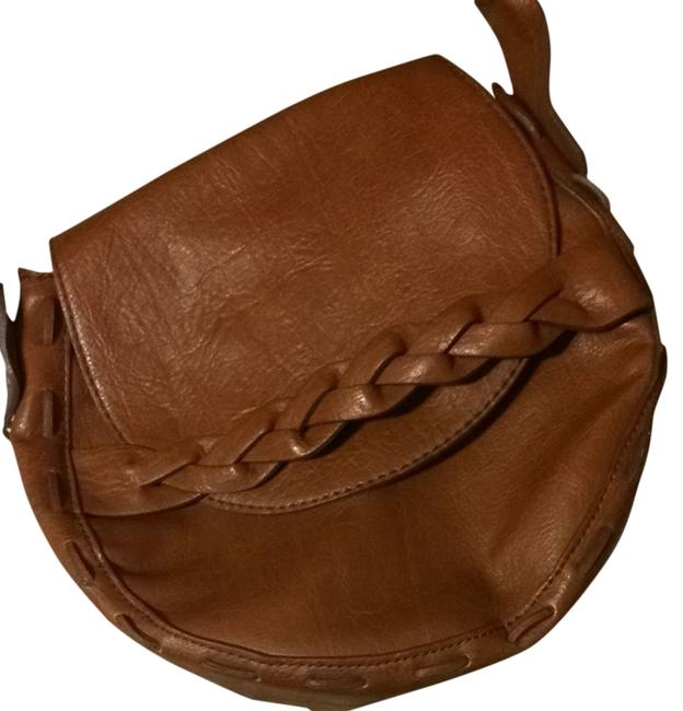Item - Camel Cross Body Bag