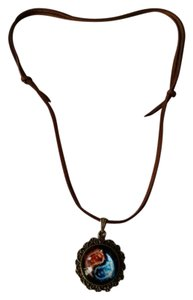 Other Brand New Reiki Energy Healing Suede Leather Necklace.