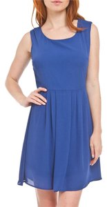Charming Charlie Sleeveless Party Navy Dress