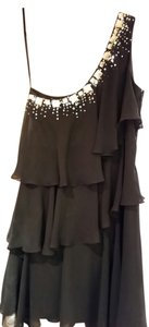 Calvin Klein Tiered Sequin Dress