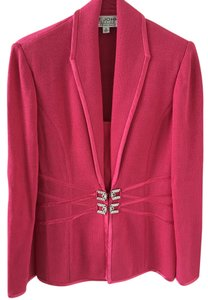 St. John Evening Hot Pink Blazer