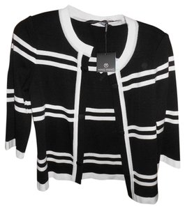 Ming Wang Black and White Jacket