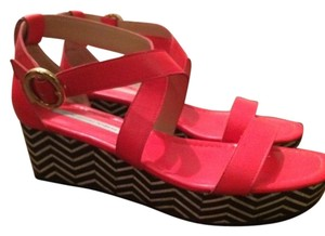 Diane von Furstenberg Red Sandals
