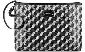 Nine West Wristlet in Black/white