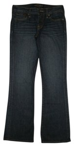 Lucky Brand 5 Pocket Style Zip Fly Cotton/spandex Sweet N Low Low Rise Boot Cut Jeans-Dark Rinse
