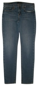 Lucky Brand 5 Pocket Style Zip Fly Cotton/spandex Sofia Skinny Skinny Jeans-Medium Wash