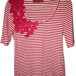 Sinclaire 10 Top Red and white
