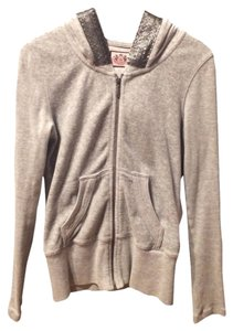 Juicy Couture Velour Zip-up Tracksuit Sweatshirt