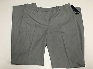 AK Anne Klein Womens Grey Pants