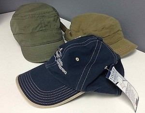 Adidas Port Authority Goorin Bros Lot Of Green Navy Cabbie Baseball Caps B2048