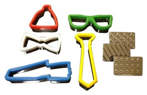 Band of Outsiders Unique Father's Day or Special Man's B'day cookie cutters