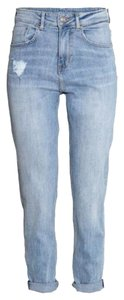 H&M Relaxed Fit Jeans-Light Wash