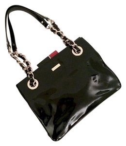 Kate Spade Patent Leather Chain Shoulder Bag