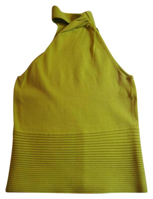 Item - Lime Green Halter Top Size 6 (S)