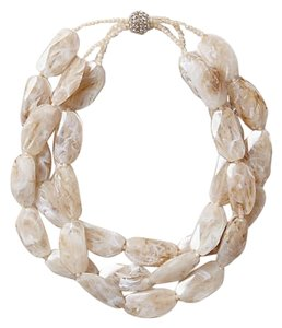Anthropologie Stone Strands Necklace