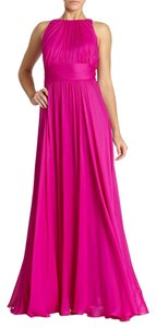 Badgley Mischka Chiffon Dress