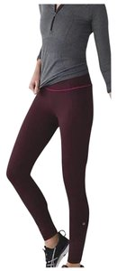 Lululemon New With Tags Lululemon Pace Queen Tight Size 4 Bordeaux Raspberry