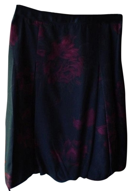 Ann Taylor Skirt Black/Red