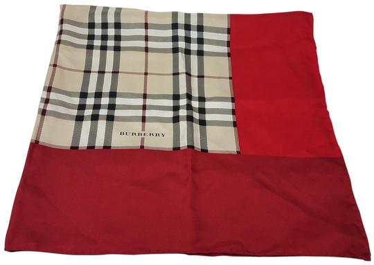 Preload https://img-static.tradesy.com/item/15121411/burberry-beige-pink-red-multicolor-nova-check-plaid-silk-scarfwrap-0-3-540-540.jpg