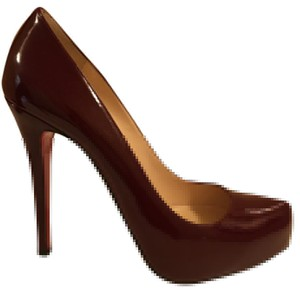 Christian Louboutin Red wine Platforms