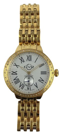 """GV2 By Gevril GV2 by Gevril Women's 9101 """"Astor"""" Diamond-Studded Watch"""