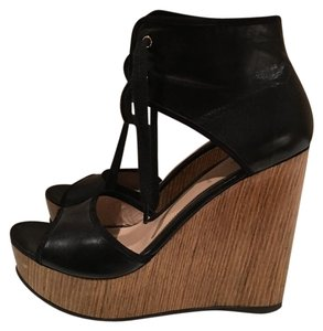 Fendi Casual Luxury Black Wedges