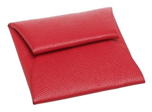 Hermès Hermes Rouge Casaque Coin Purse