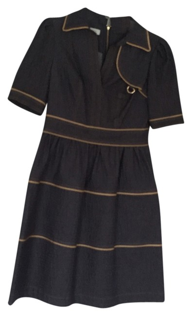 Preload https://item1.tradesy.com/images/kay-unger-blue-with-mustard-piping-above-knee-workoffice-dress-size-4-s-1512250-0-0.jpg?width=400&height=650