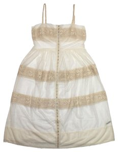 Free People short dress Ballet ivory Adjustable Straps on Tradesy