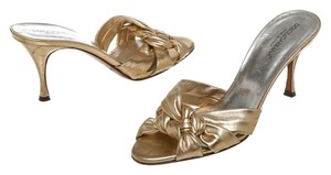 Dolce&Gabbana Gold Sandals