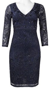 Sue Wong Embellished Sheath Dress