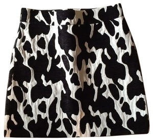 Zara Mini Skirt Black & White