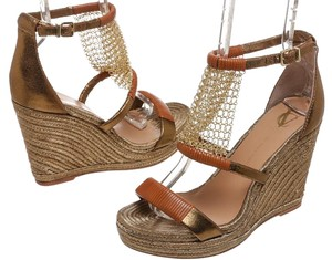 Vince Camuto Bronze Wedges
