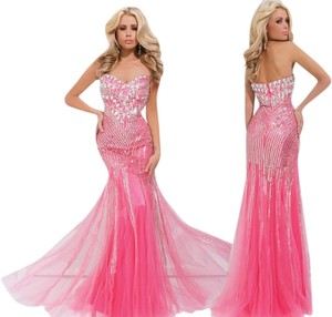 Tony Bowls New Prom 114740 Size 4 Strapless Dress