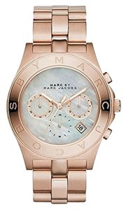 Marc Jacobs Marc Jacobs MBM8637 Women's Rose Gold Tone St Steel Chronograph Watch