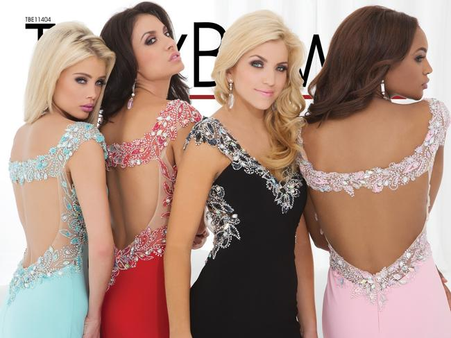Tony Bowls New Prom Tbe11404 Size 2 Slit Dress