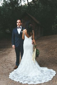 Casablanca Bridal 2153ng Wedding Dress