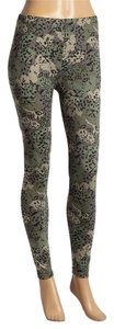 Capelli New York Camo Leopard CAMOUFLAGE GREEN Leggings