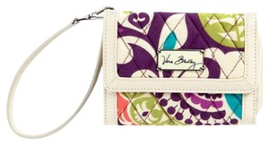Vera Bradley Plum Crazy Wallet Wristlet in Multi