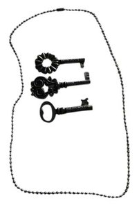 Other 3 Skeleton Key Pendants with 20
