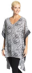 Chico's Taffy Poncho New Tunic