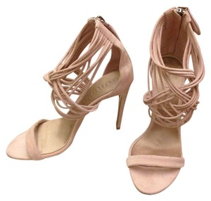 Burberry Pumps Gems Delabole Nude Pink Sandals