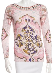 Emilio Pucci Pencil Skirt Set Longsleeve Monogram Dress