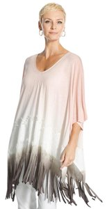 Chico's Fringe Poncho S/m New Tunic