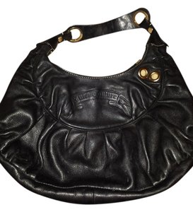 Juicy Couture Satchel in black leather