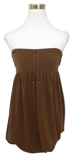 Item - Brown Small Cover-up/Sarong Size 4 (S)